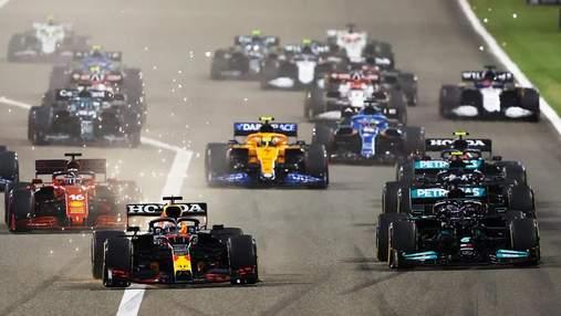 Формула-1 оголосила календар на сезон-2022: рекордна кількість етапів та дві гонки у США