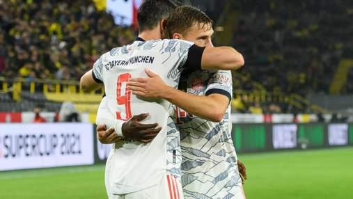 Бавария разгромила Байер, забив 5 голов за один тайм: видео