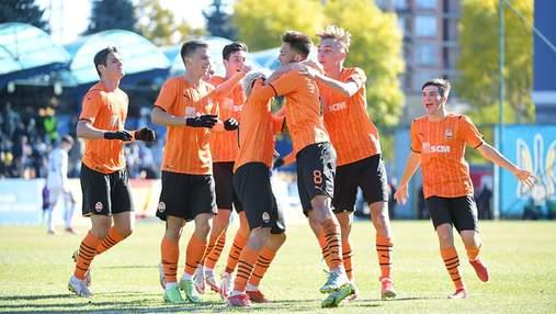 Шахтар здобув вольову перемогу над Реалом в юнацькій Лізі чемпіонів