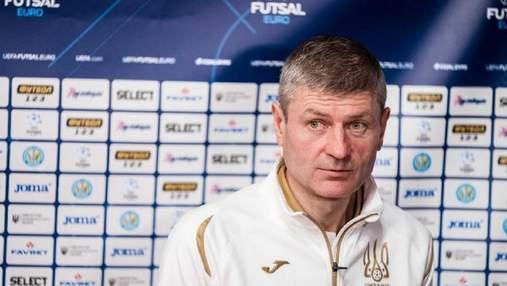 Легких оппонентов на чемпионате Европы нет, – наставник сборной Украины по футзалу