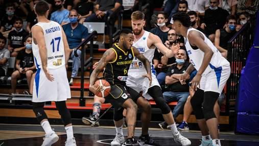 Киев-Баскет выиграл второй матч в Кубке Европы ФИБА и вышел в лидеры группы