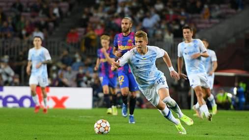 Динамо встановило абсолютний антирекорд українських клубів у єврокубках