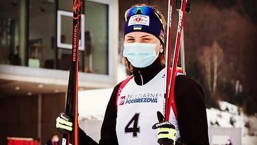 Украинская биатлонистка сильно повредила лицо из-за падения во время тренировки: фото 18+