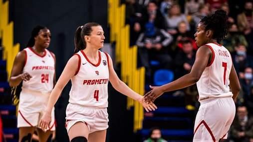 Украинская баскетболистка Дубровина попала в сборную недели Еврокубка ФИБА