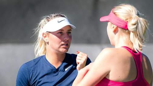 Українські тенісистки програли два фінали за один день