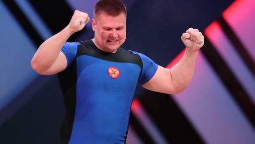 Російського чемпіона світу спіймали на вживанні допінгу