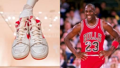 Кросівки за 1,5 мільйона доларів: взуття баскетболіста Джордана продали за рекордну суму