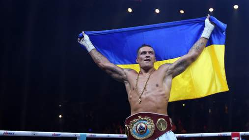 Усик – второй в рейтинге лучших боксеров мира The Ring: Джошуа и Фьюри не в списке