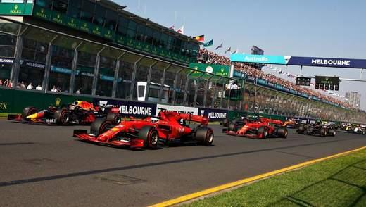 Формула-1 опублікувала календар на 2021 рік