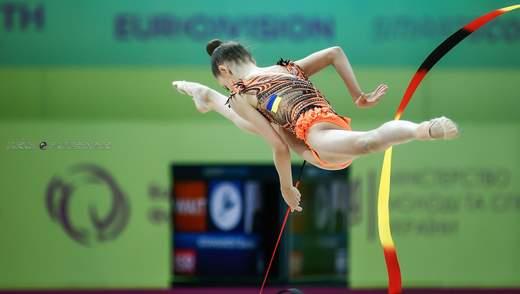 Украина получила шесть наград на чемпионате Европы по художественной гимнастике в Киеве