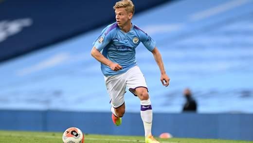 Зінченко найкращий гравець в історії Манчестер Сіті за цікавим показником