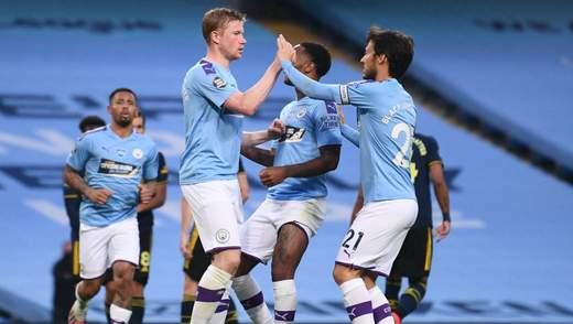 Зинченко помог Манчестер Сити обыграть Арсенал в матче АПЛ: видео