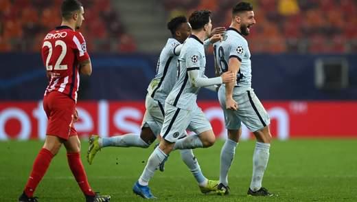 В прыжке через себя: как роскошный гол Челси шокировал Атлетико в Лиге чемпионов – видео