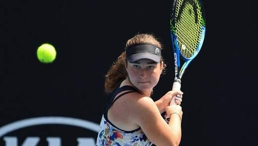 Українська тенісистка Снігур перемогла на турнірі у Франції