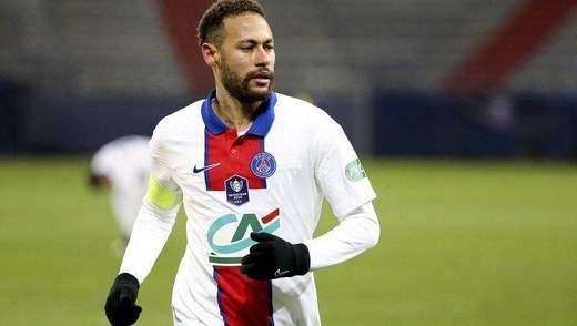 Неймар рискует снова не сыграть за ПСЖ против Барселоны в Лиге чемпионов