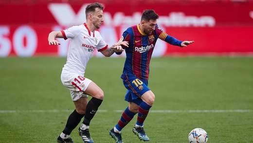 Барселона разгромила Севилью и вышла в финал Кубка Короля: видео