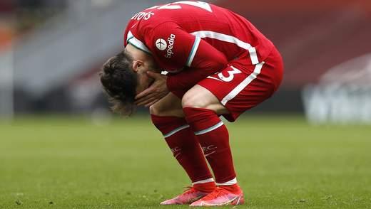 Ливерпуль проиграл шестой подряд матч дома, уступив Фулхэму: видео