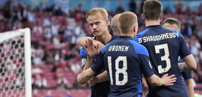 Финляндия неожиданно победила Данию в матче с несчастным случаем Эриксена: видео