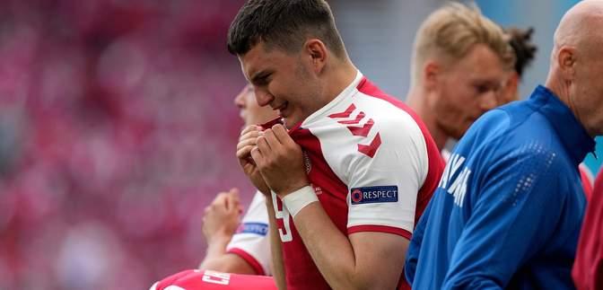 Сборные Дании и Финляндии доиграют матч Евро-2020 после несчастного случая с Эриксеном