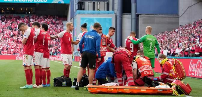 Потерял сознание на матче Евро-2020: Эриксен уже может говорить