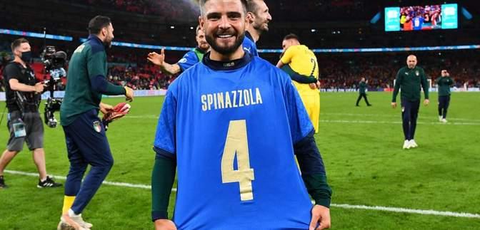 Італія зворушливо присвятила перемогу над Іспанією травмованому Спінаццолі: фото