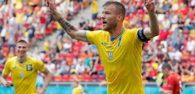 Ярмоленко – найкращий футболіст збірної України на Євро-2020, – InStat
