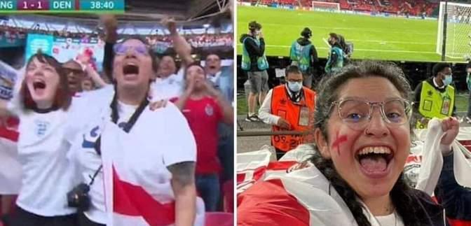 Вболівальницю Англії звільнили з роботи за похід на матч Євро-2020 під час лікарняного