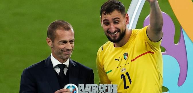 Джанлуїджі Доннарумма – найкращий гравець Євро-2020