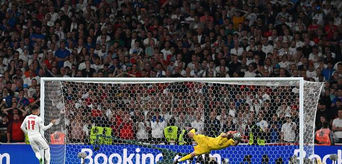 """Легенда МЮ та Моурінью """"знищили"""" зірок збірної Англії за серію пенальті проти Італії"""